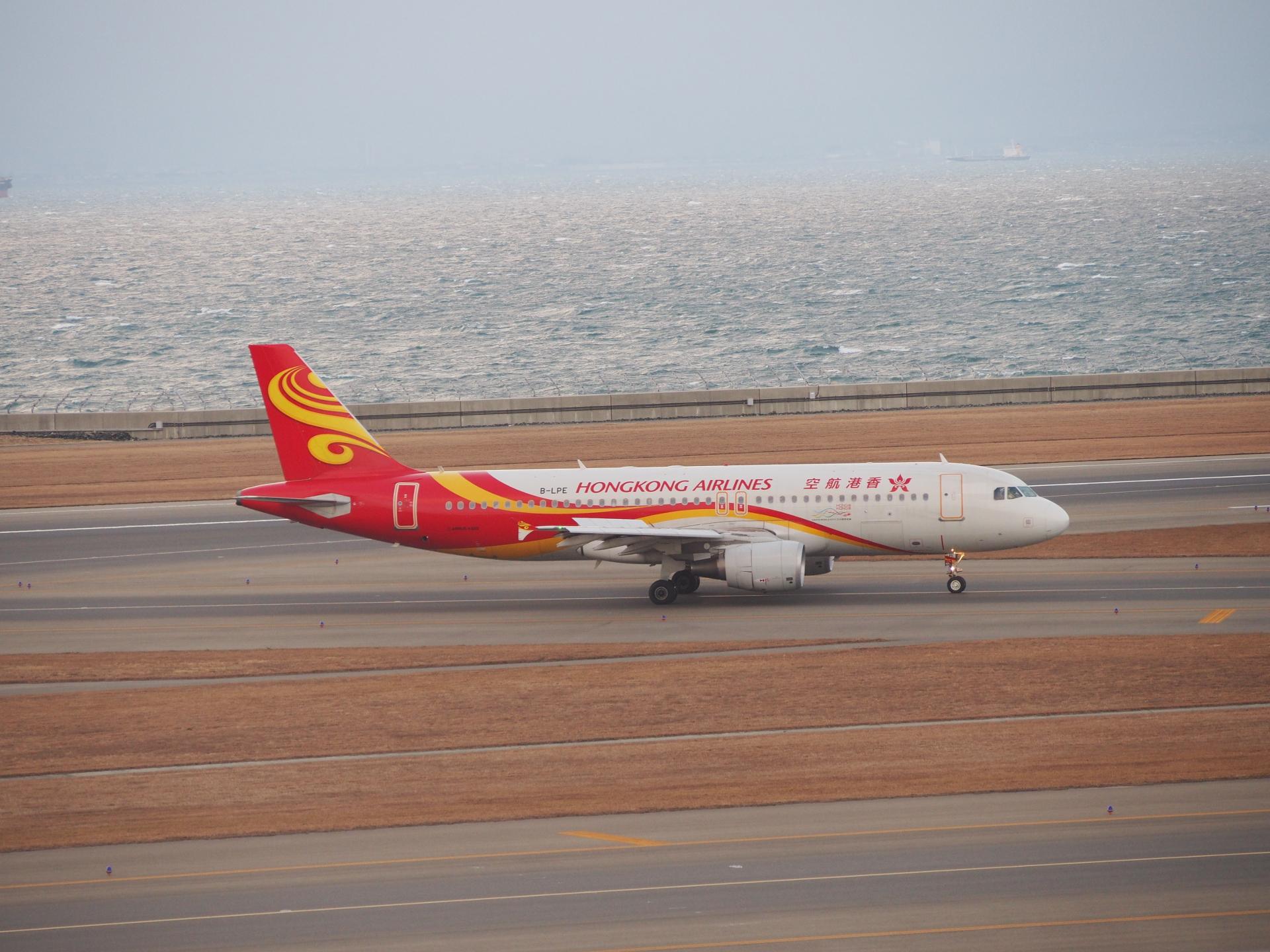 香港航空のA320です。