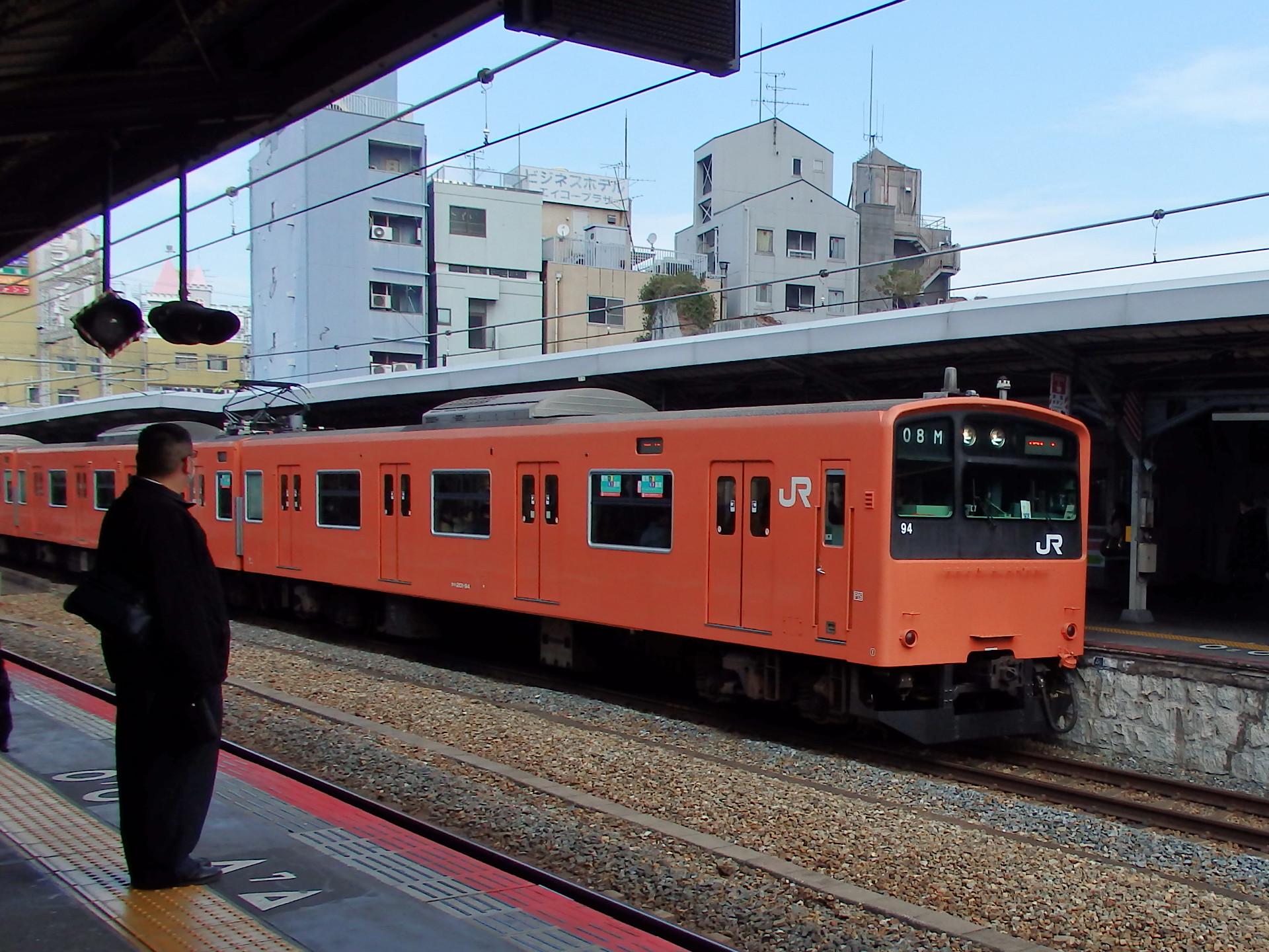 201系西日本更新車です。