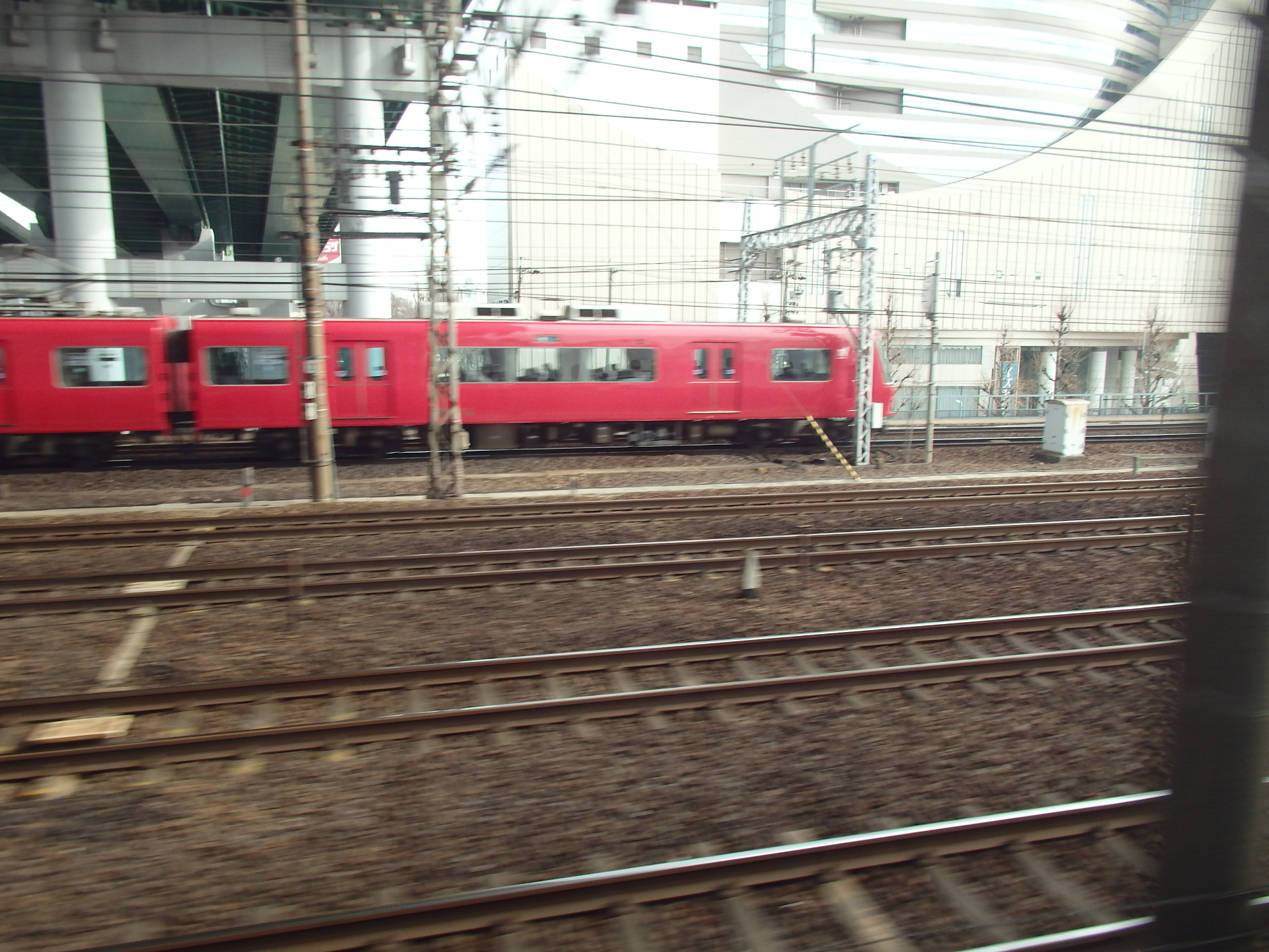 名鉄電車です。