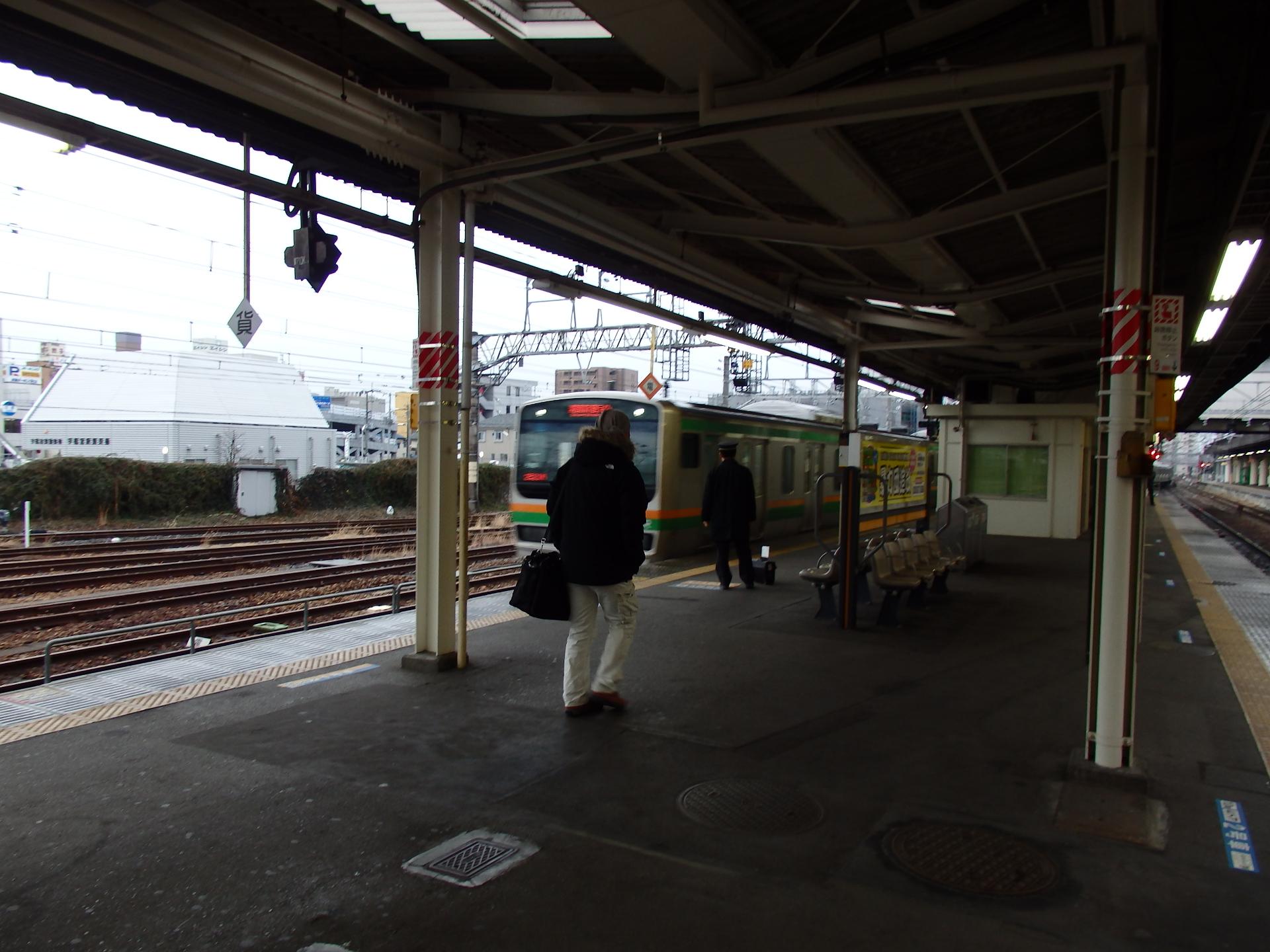 間々田まで向かいます。