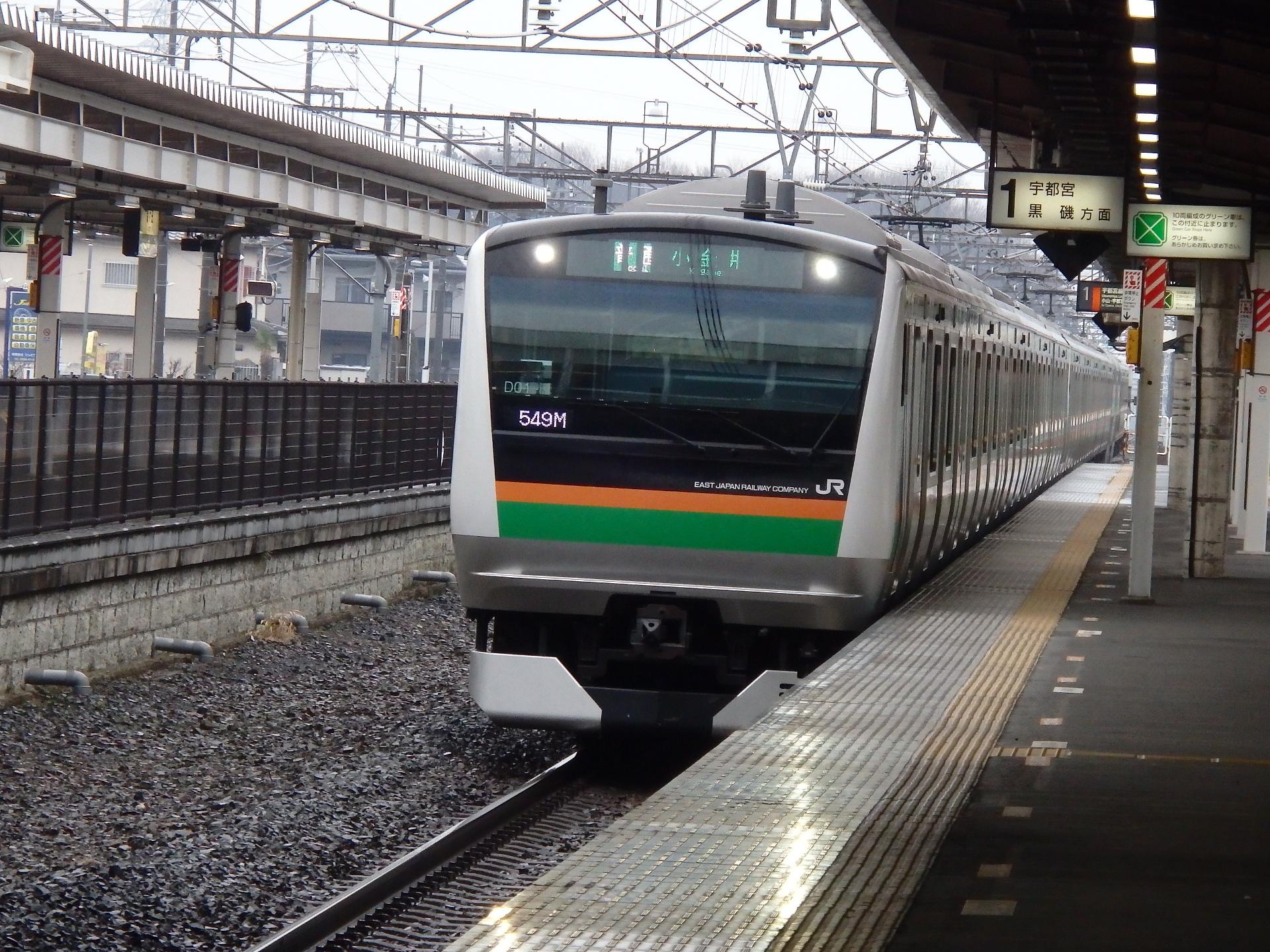 E233系3000番台です。