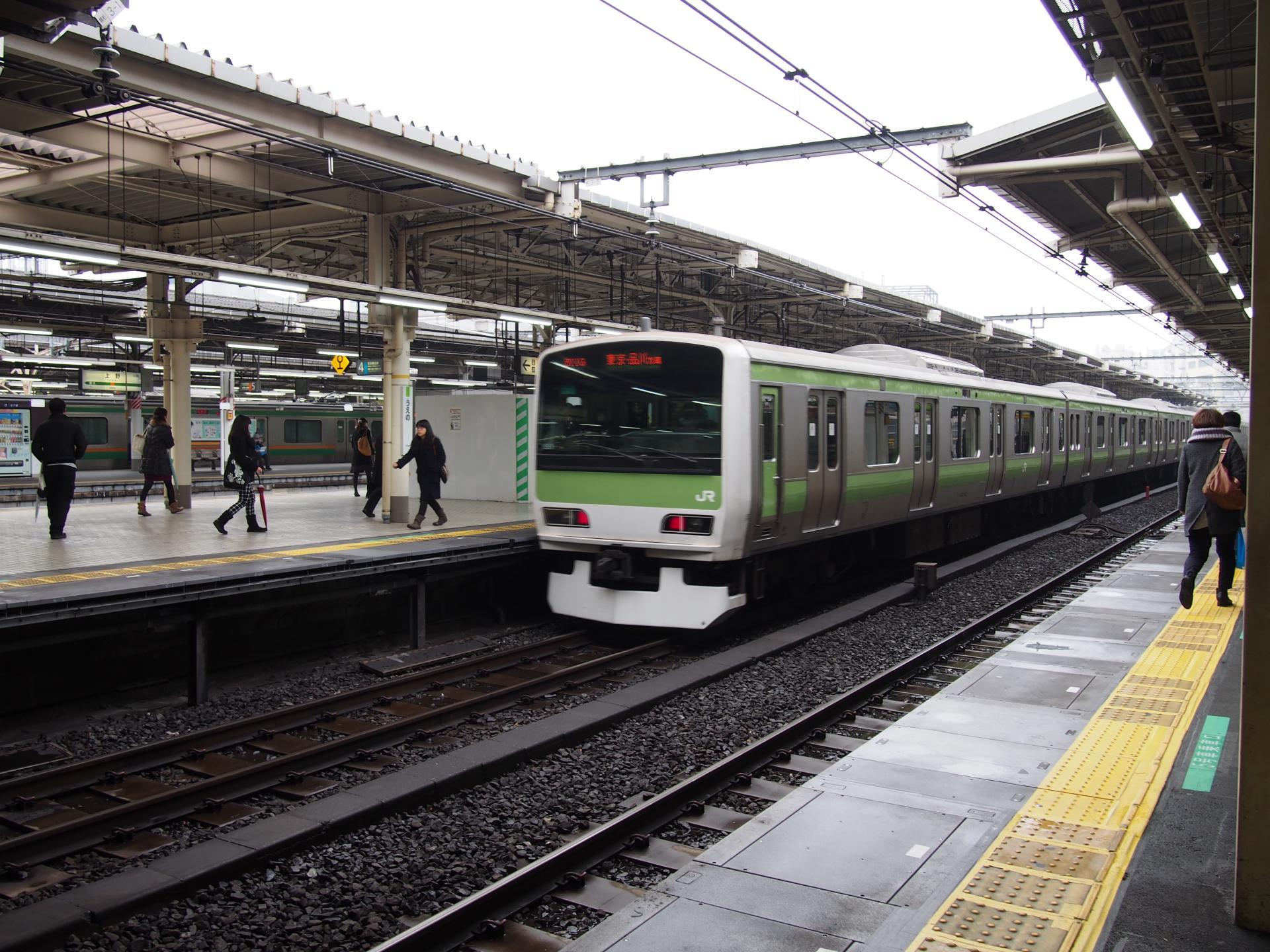 山手線・E231系500番台です。