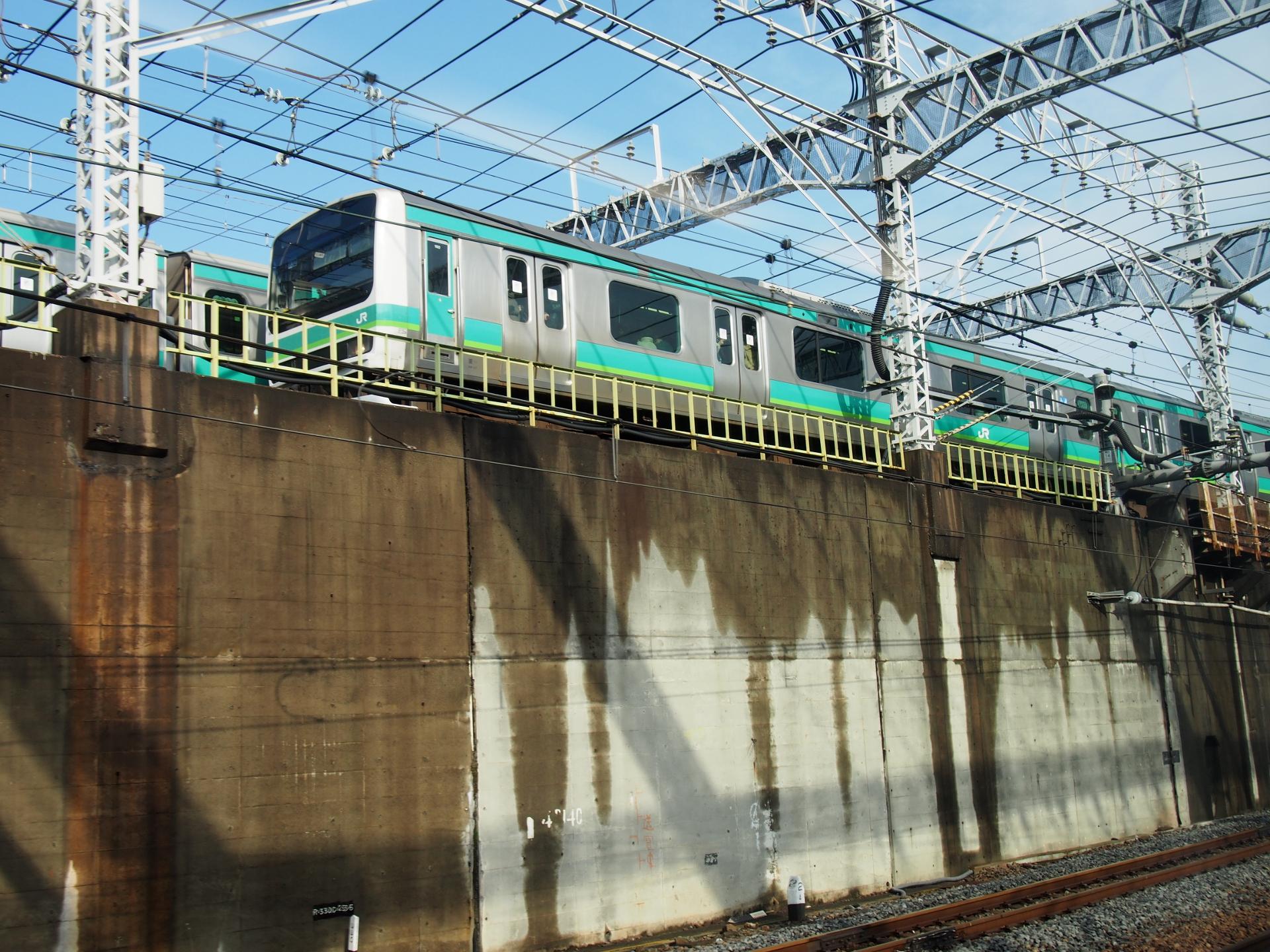E231系常磐線仕様車です。