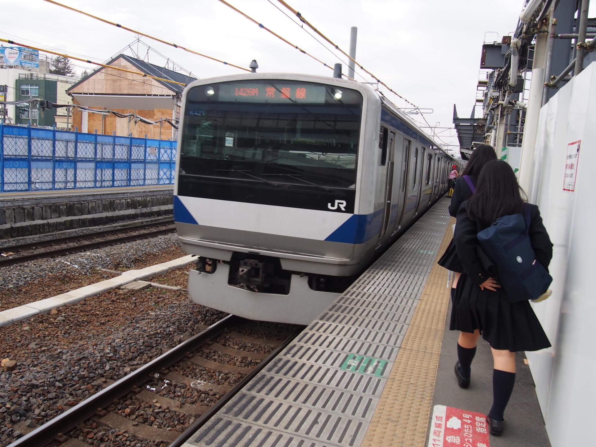E531系近郊型電車です。