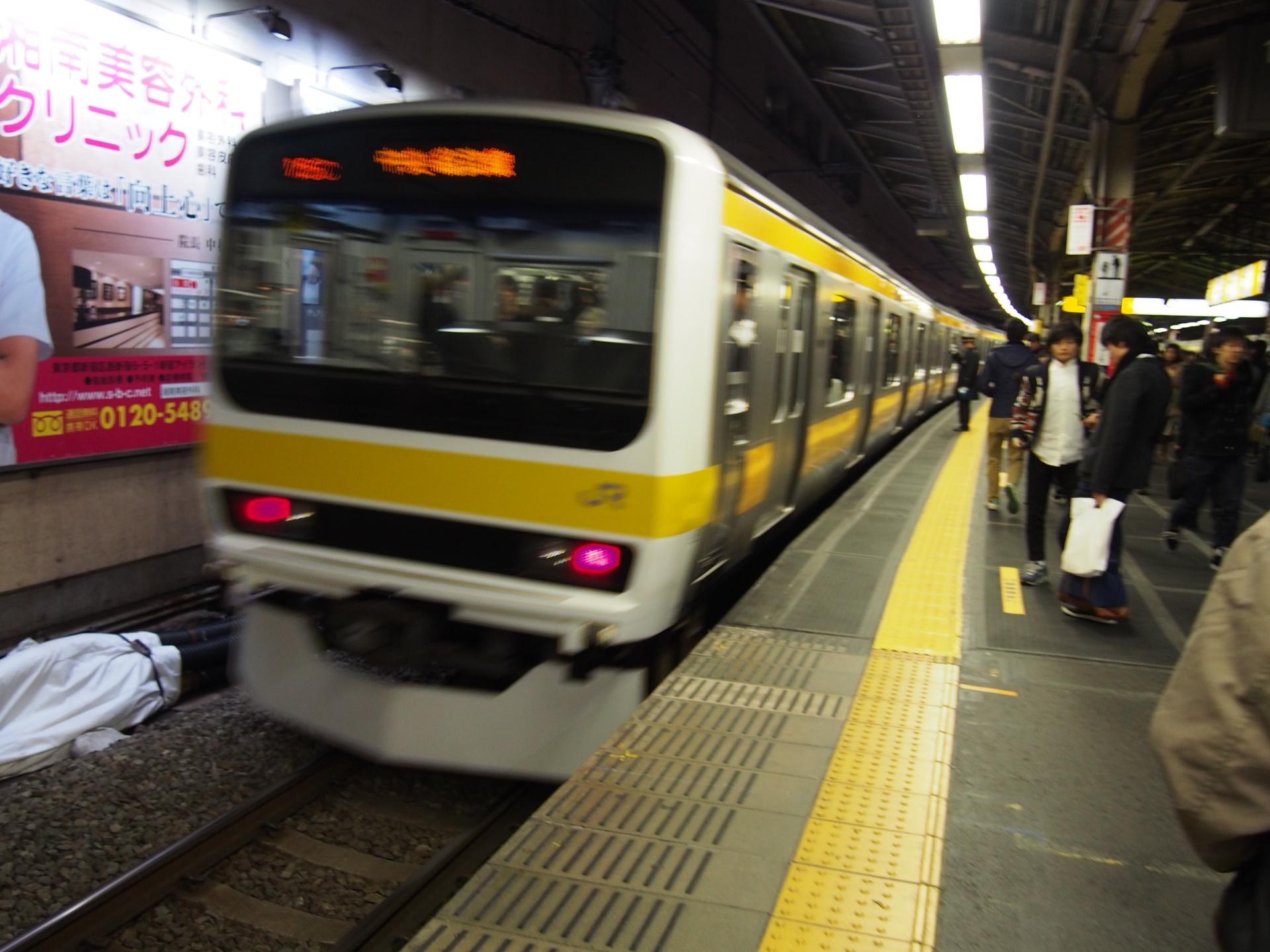 中央総武線のE231系0番台です。