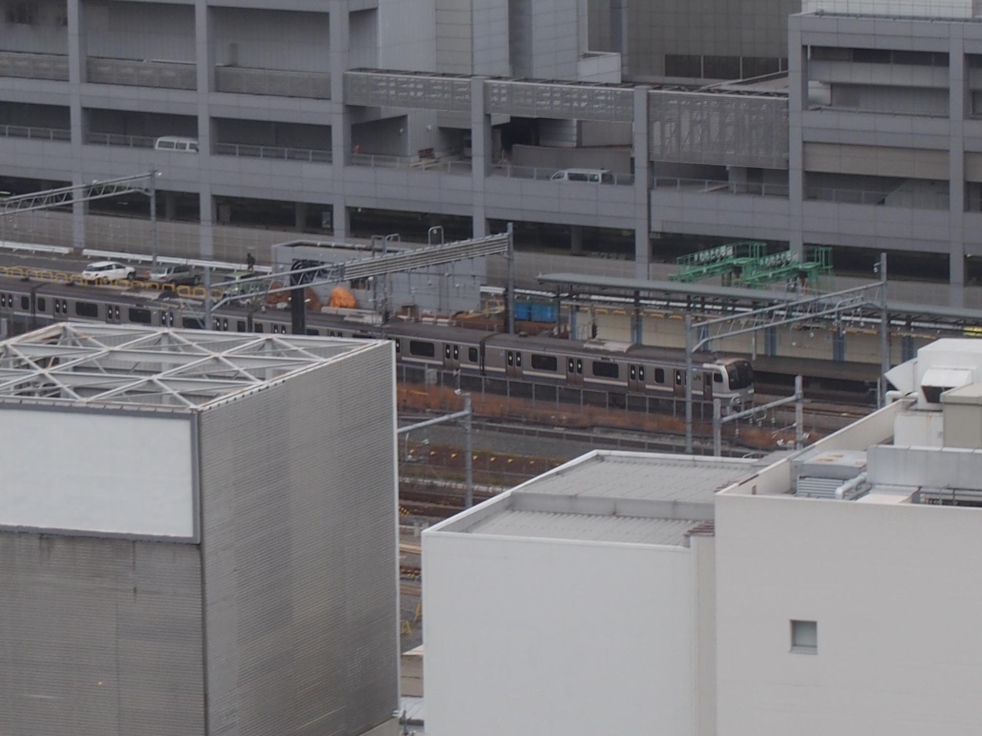 E217系横須賀・総武線電車です。