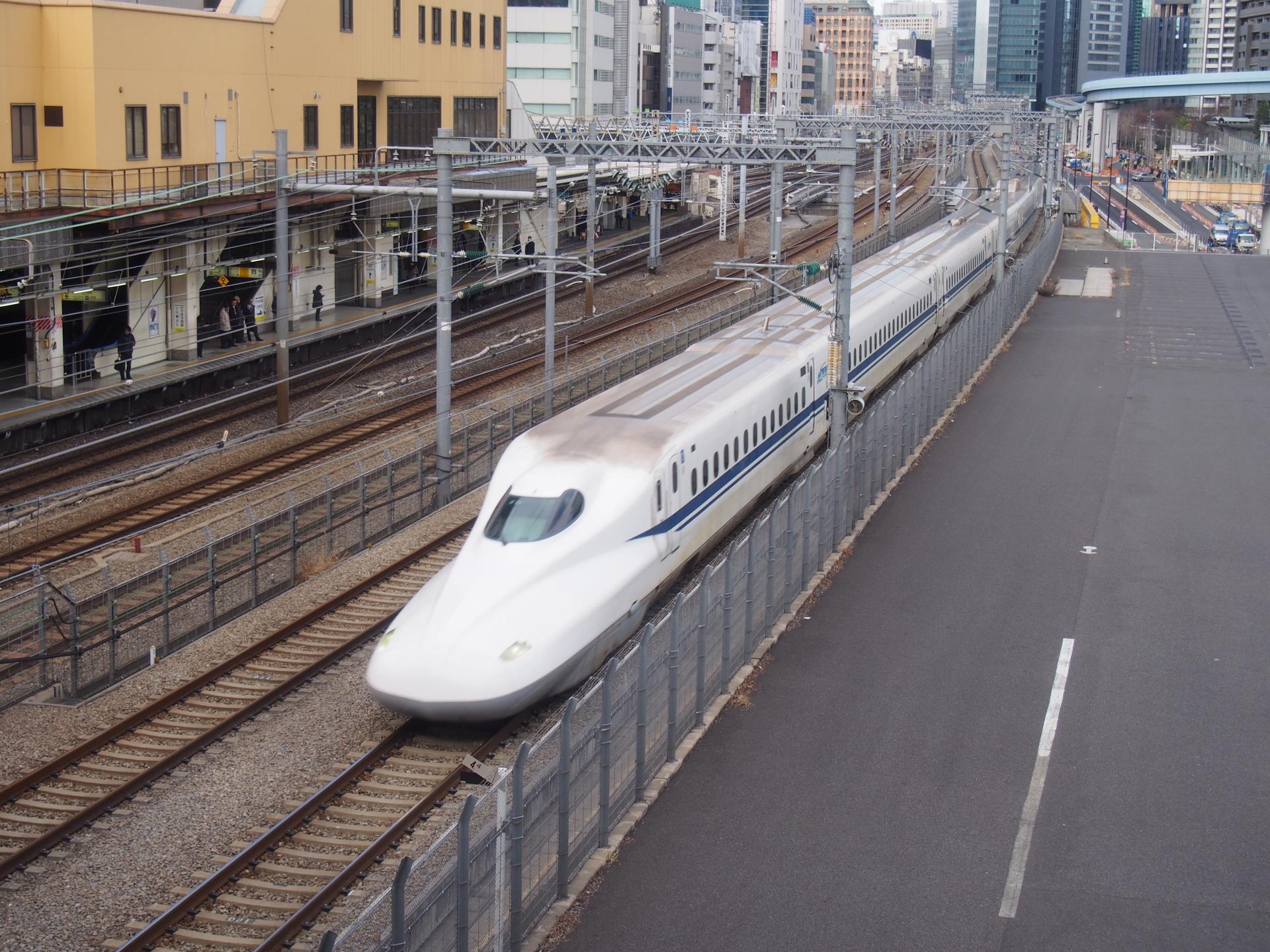 N700系新幹線です。