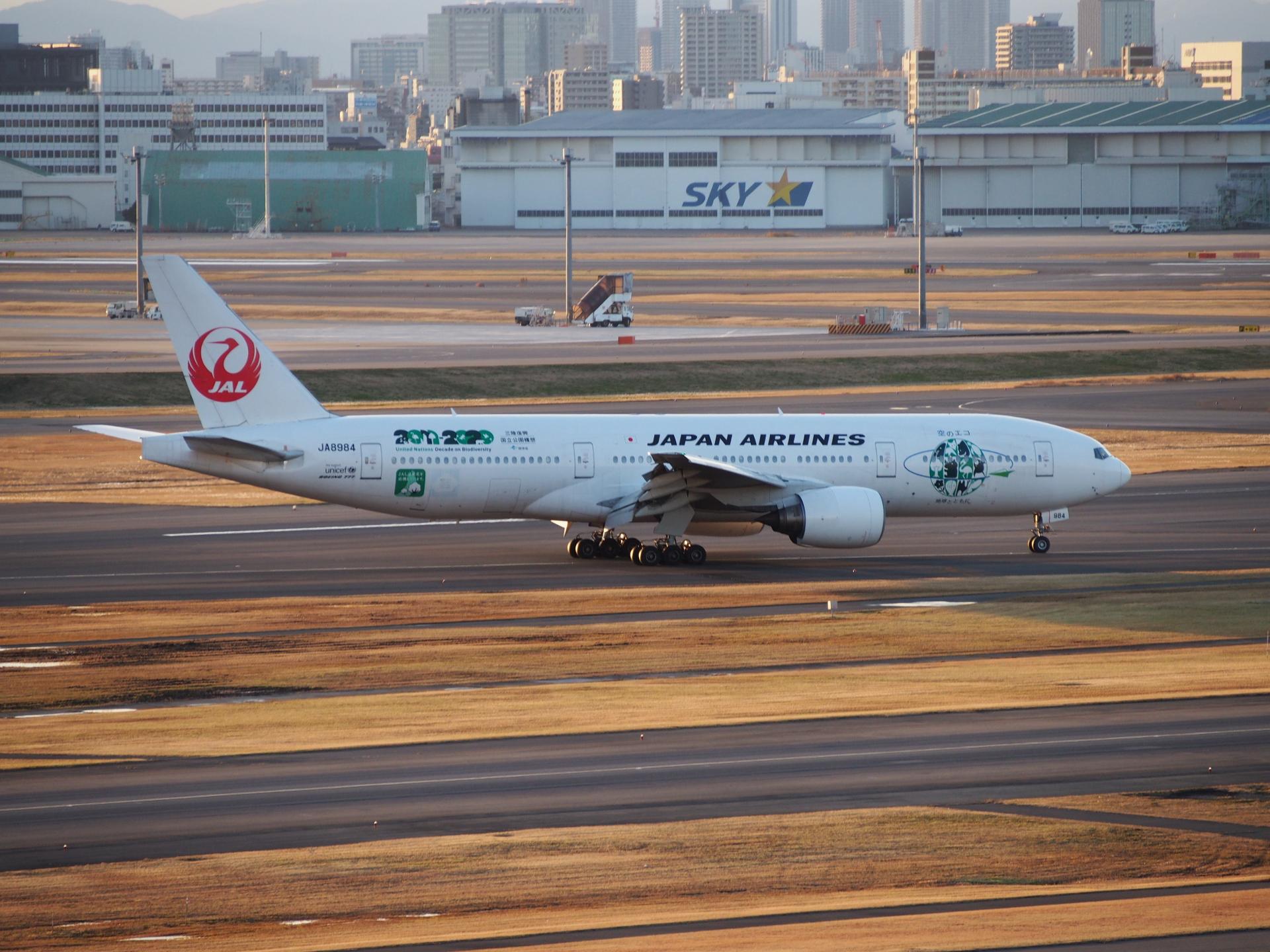 エコジェット・B777-246/JA8984機です。