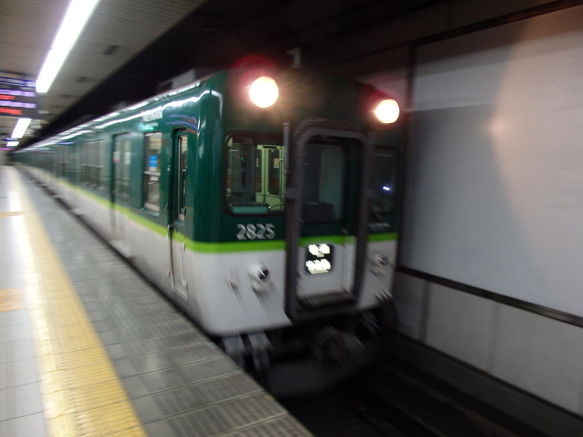 三条−祇園四条まで京阪線に乗りました。