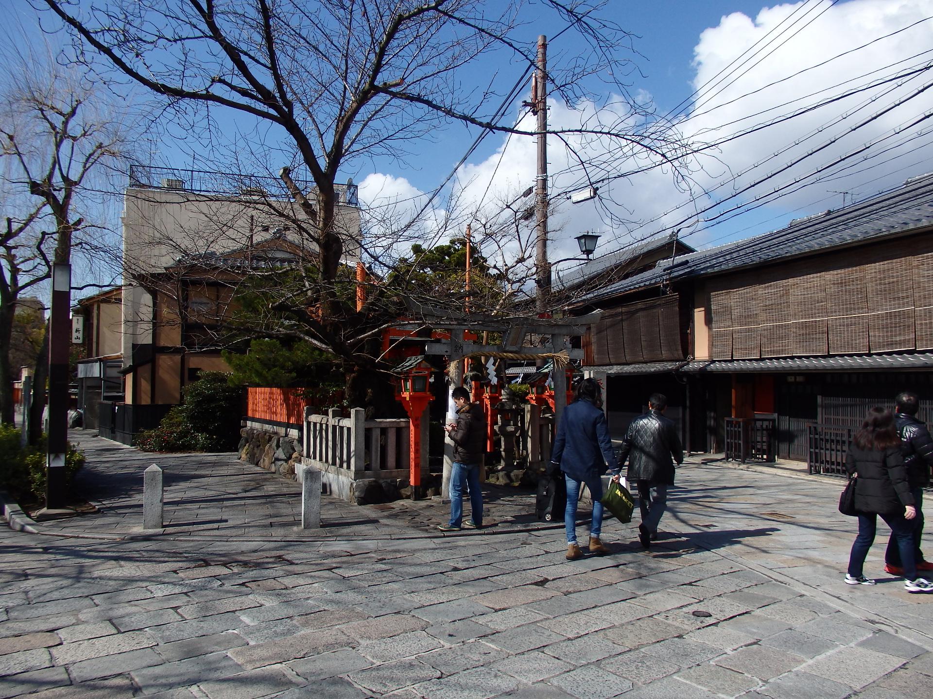 祇園の界隈です。