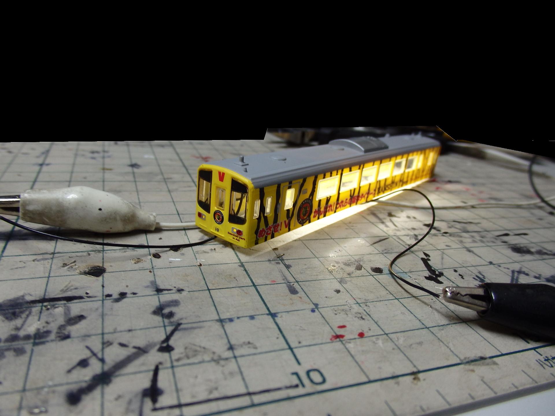 土佐くろしお鉄道9640−10タイガース応援列車を本格電装。