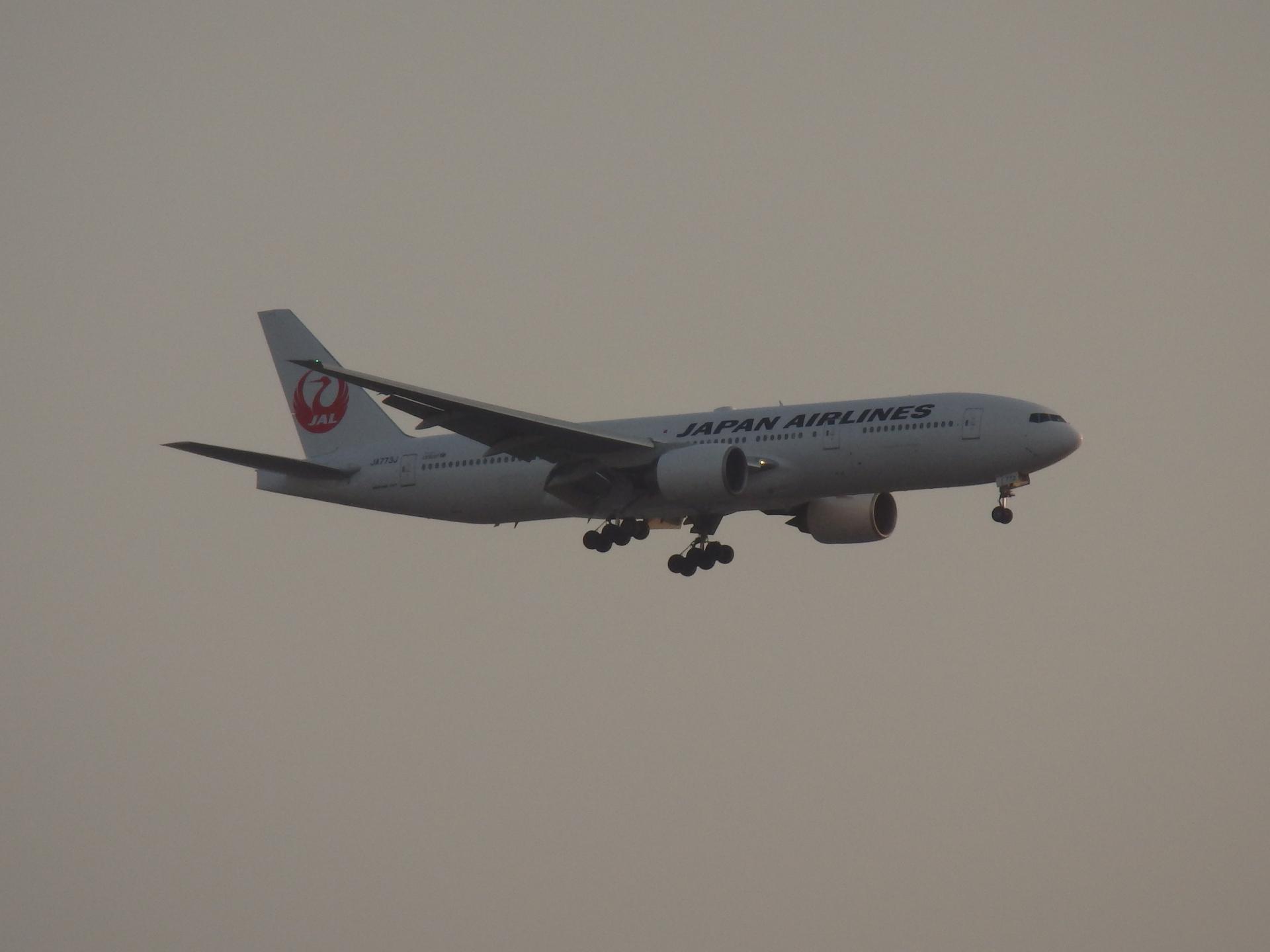 JALのB777-246/JA773J機です。