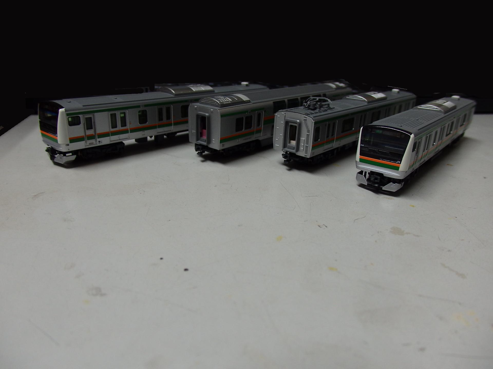 E233系3000番台上野東京ラインの基本セットです。