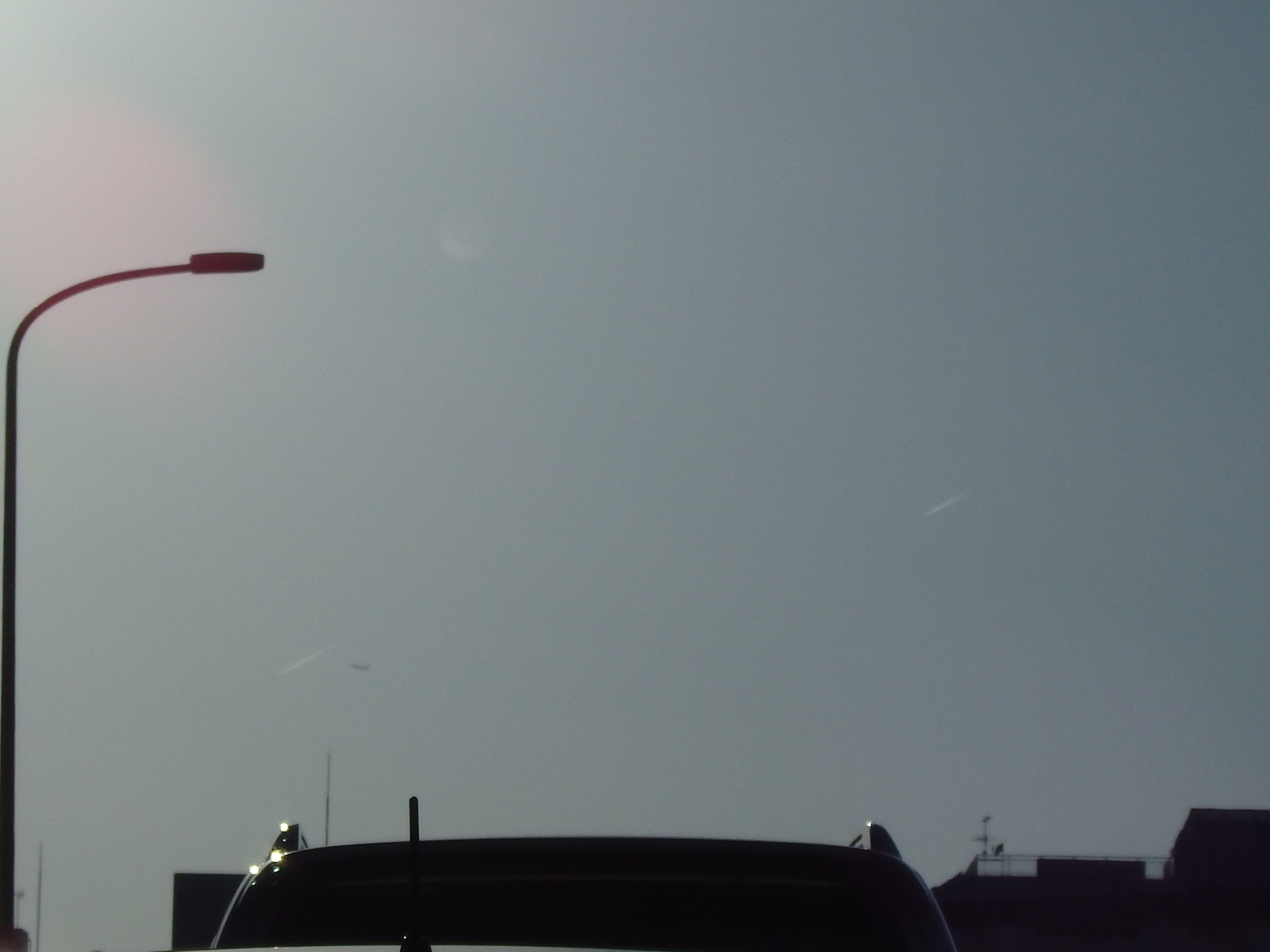 エンルート機が2機続けて見られました。