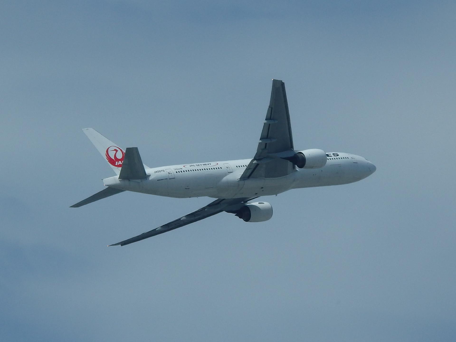 元日本エアシステムの機材です。