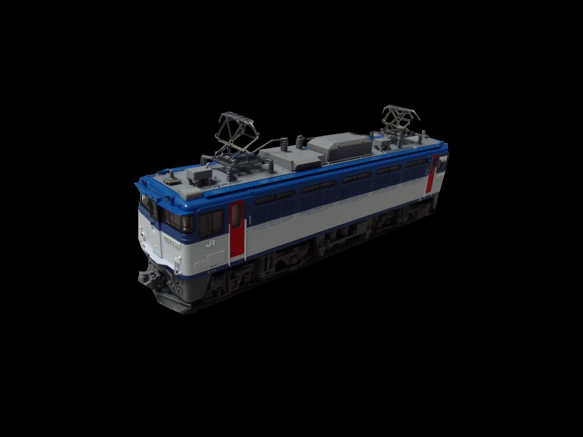 ED79−50番台のパーツ取り付け。