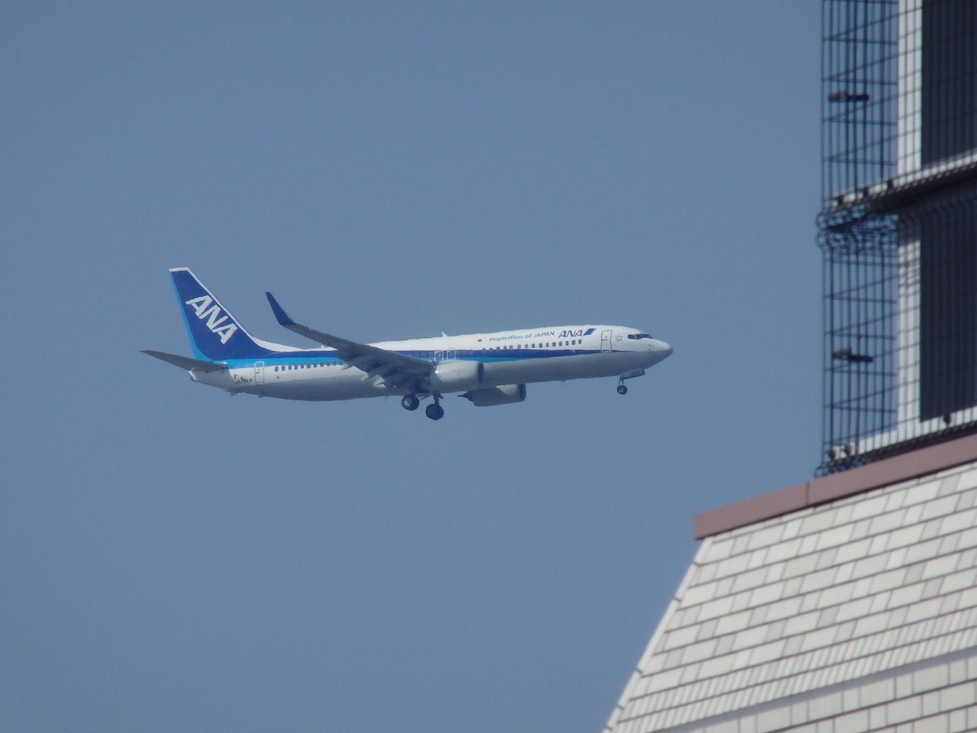 B737-881(JA72AN)機です。