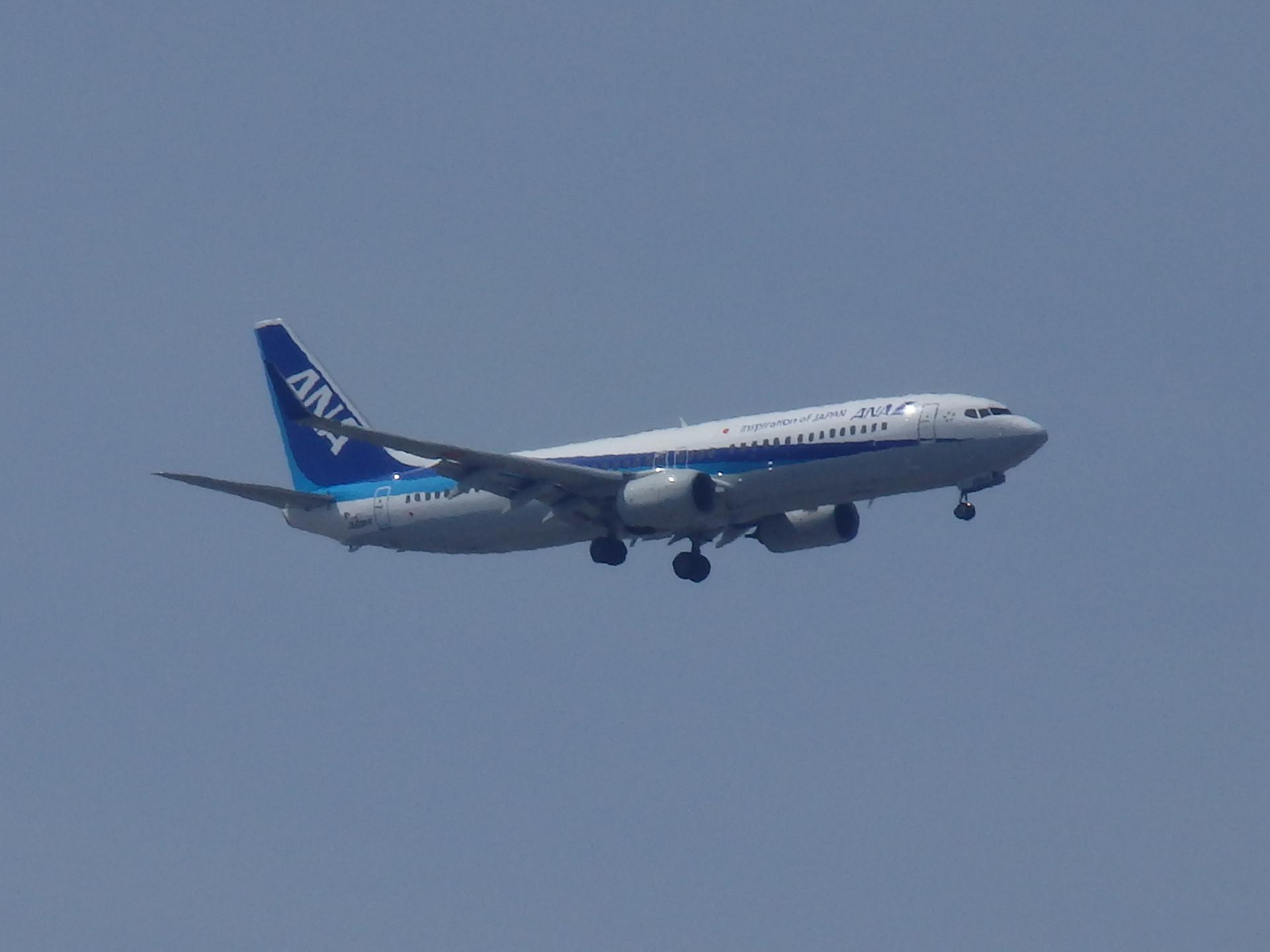北海道線はB737−800機がメインでした。