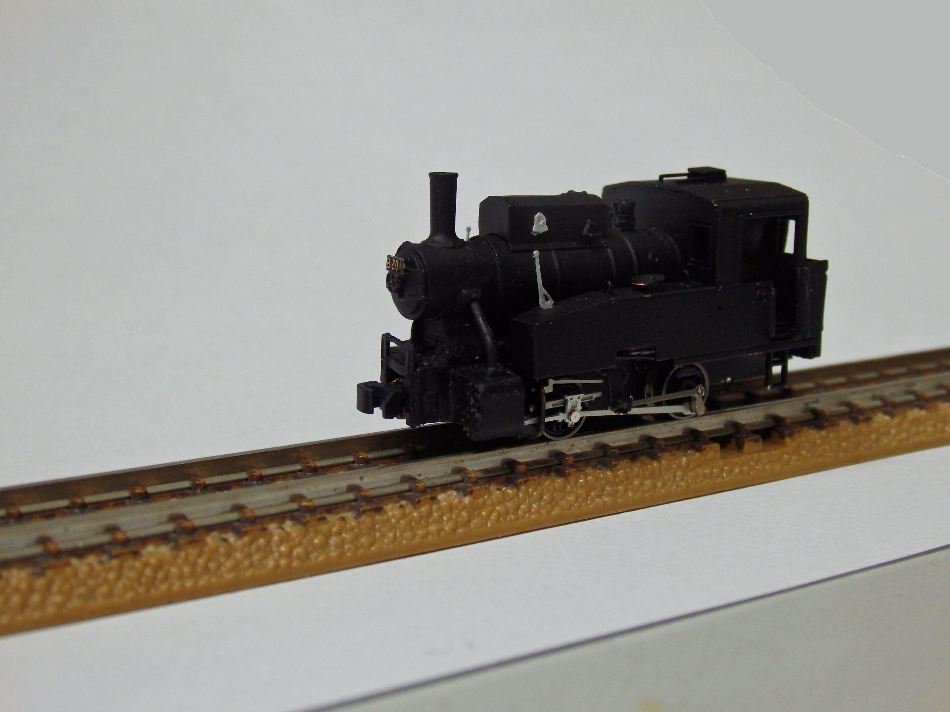 ワールド工芸のB20形蒸気機関車です。