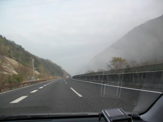 西播磨・佐用町の朝霧です。