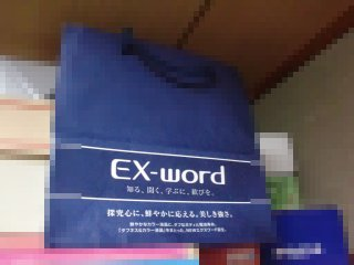 子供に電子辞書を買いました。