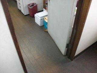 戸が開きっ放しになっていました。