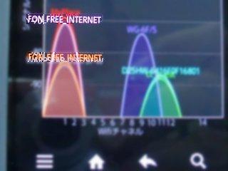 某会館内もFON FREE電波を受信。