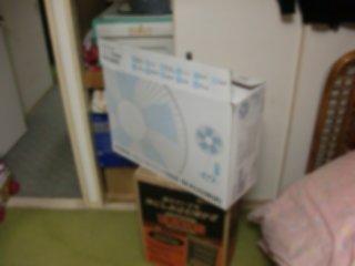 扇風機はどこも売り切れ状態。