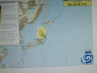 27日のDWD放射能拡散情報です。