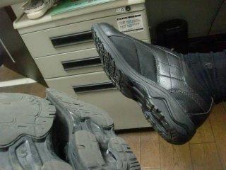 靴を買い換えました。