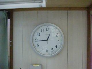 時計の電池が切れていたので交換しました。