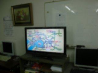 朝ミはTVをモニターしながら行いました。