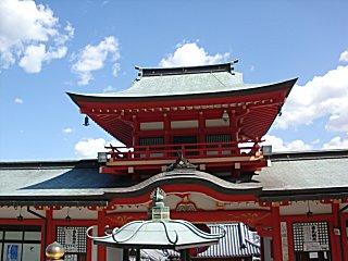 門戸厄神東光寺にお参りしました。