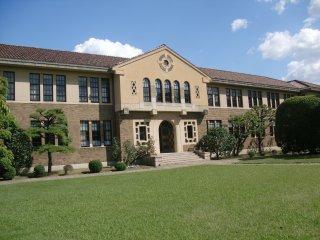 神戸女学院を見学。