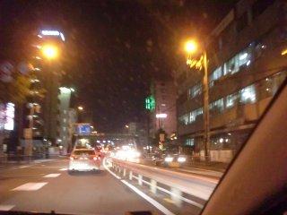 関電吹田支店付近。