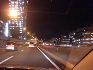 阪神高速は時間が掛かり過ぎでした。