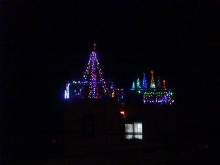 毎年恒例クリスマス電飾です。