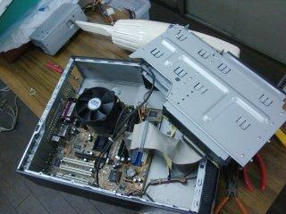FAX-PCの電源を交換。